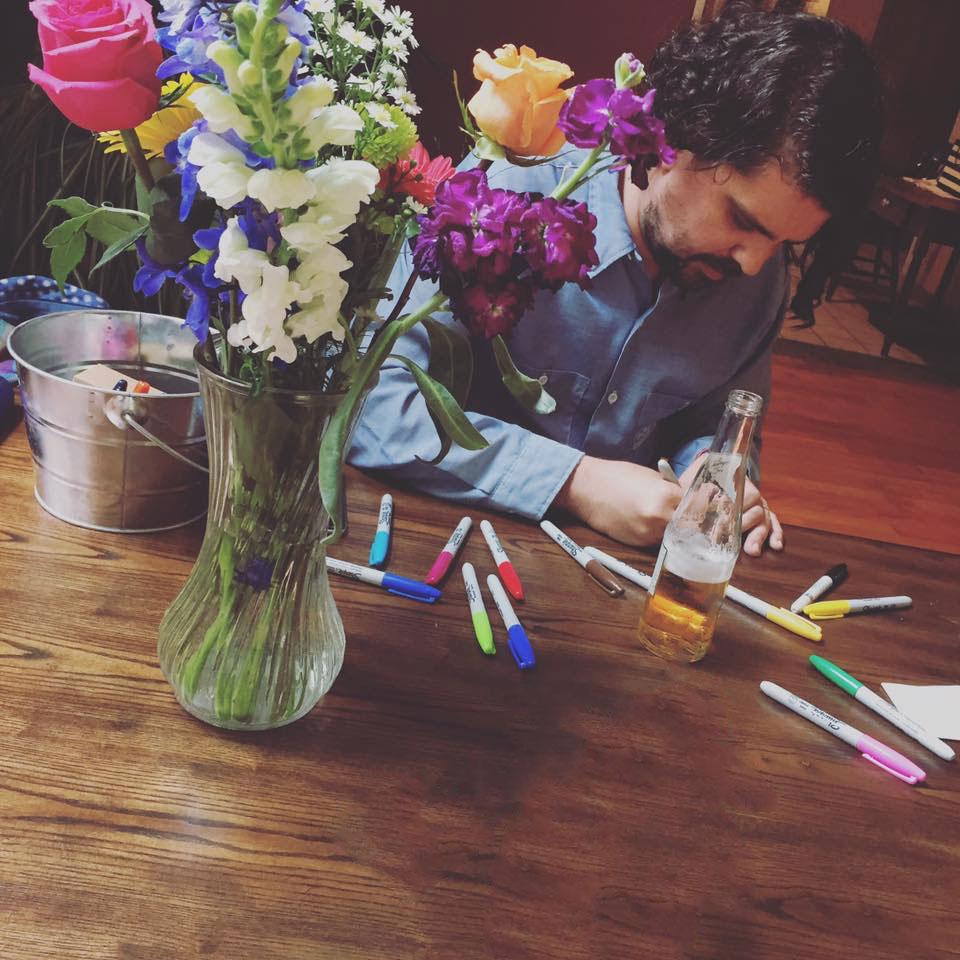 David Drawing