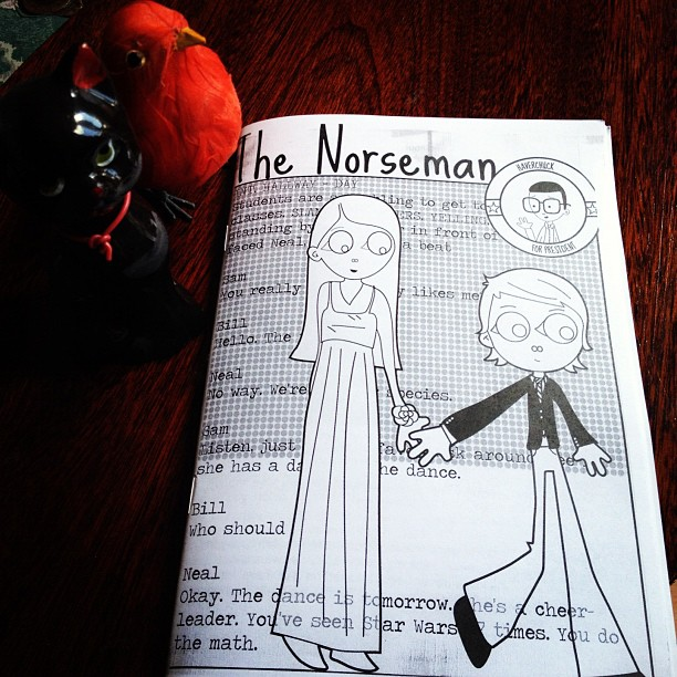 norseman, freaks and geeks zine